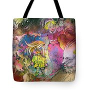 The Angry Father Tote Bag
