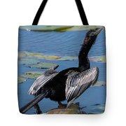The Bird, Anhinga Tote Bag by Cindy Lark Hartman
