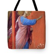 The Annunciation Fragment 1311 Tote Bag