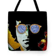 The Answer Is Blowin' In The Wind. Bob Dylan Tote Bag
