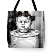 The Antique Doll's Head Tote Bag