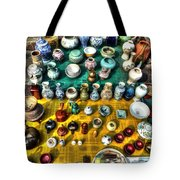 The Antique Market Tote Bag by Michael Garyet