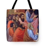The Apostles Of Maria Fragment 1311 Tote Bag