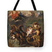 The Apotheosis Of Hercules Tote Bag