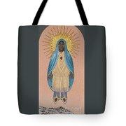 The Apparition Of St Kateri Tekakwitha 192 Tote Bag