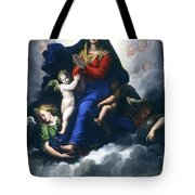 The Apparition Of The Virgin Tote Bag