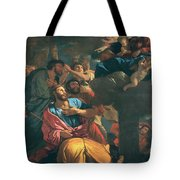 The Apparition Of The Virgin The St James The Great Tote Bag