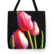 The Appearance Of Spring - Tulips Tote Bag