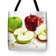 The Apple Focus Tote Bag
