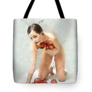 The Apples Keeper Tote Bag