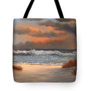 The Approaching Storm Tote Bag
