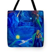 The Aquarian Family Tree  Tote Bag