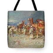 The Arab Caravan   Tote Bag