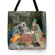 The Arab Scribe Cairo Tote Bag