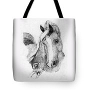 The Arabian Stallion Tote Bag