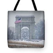 The Arch At Valley Forge Tote Bag