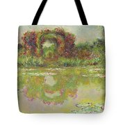 Monet Rose Arch at Giverny Sports Bag