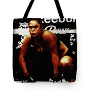 The Arm Collector Rondy Rousey Tote Bag