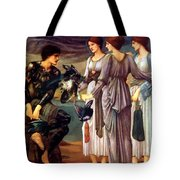 The Arming Of Perseus 1885 Tote Bag