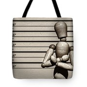 The Arrest  Tote Bag by Bob Orsillo