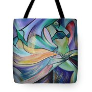 The Art Of Belly Dance Tote Bag