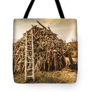 The Art Of Bonfires Tote Bag