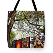 The Art Of Jackson Square Tote Bag
