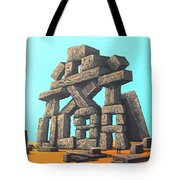 The Art Of Modern Conversation Tote Bag