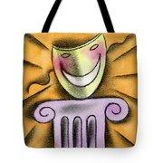 The Art Of Smiling Tote Bag