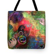 The Art Of The Net Tote Bag