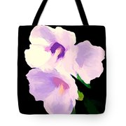 The Artful Hibiscus Tote Bag