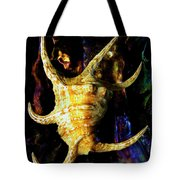 The Arthritic Spider Conch Seashell Tote Bag
