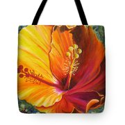 The Artisan Hibiscus Tote Bag