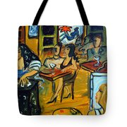 The Artist And The Fortune Teller Tote Bag