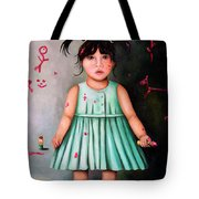 The Artist-beginning Of A Child Prodigy Tote Bag