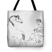 The Artist Tote Bag by Gerlinde Keating - Galleria GK Keating Associates Inc
