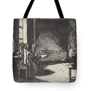The Artist In His Mother's Room, Danzig Tote Bag