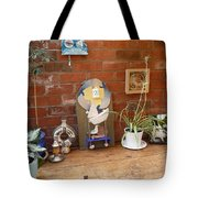 The Artists Bench Tote Bag