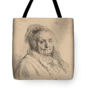 The Artist's Mother, Head And Bust Tote Bag