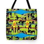 The Arts Of Textile Designs #3 Tote Bag