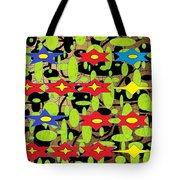 The Arts Of Textile Designs #42 Tote Bag
