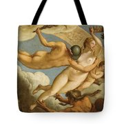 The Ascension Of Virtue Tote Bag