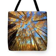 The Aspens Above - Colorful Colorado - Fall Tote Bag