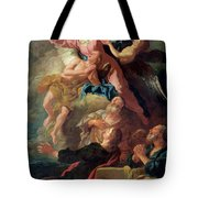 The Assumption Of The Virgin Tote Bag by Jean Francois de Troy