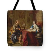 The Astronomy Lesson Of The Duchesse Du Maine Tote Bag