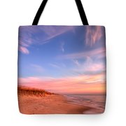 The Atlantic Coast At Sunrise Tote Bag