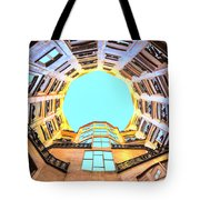 The Atrium At Casa Mila Tote Bag