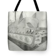 The Attack Tank Tote Bag