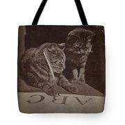 The Attentive Pupil Tote Bag