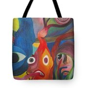 The Audience Tote Bag